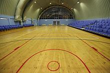Монтаж покрытий для спортивного зала