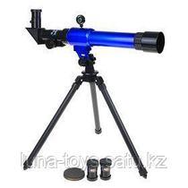 Телескоп настольный 20х30х40 синий 45*24,5см