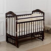 """Кровать детская Incanto """"Pali"""", (венго), с мишкой, маятник (продольный)"""