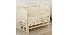 """Кровать детская Incanto """"Pali"""", (слоновая кость,орех) (маятник продольный)"""