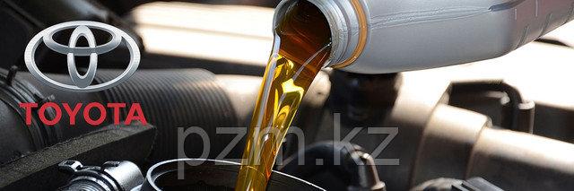 Замена масла в двигателе тойота алматы, замена масла