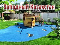 Резиновые покрытия детских площадок, толщина 8мм