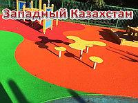 Полиуретановое покрытие детских площадок, толщина 10мм
