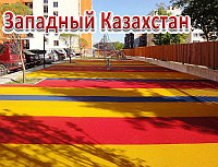 Тартановое покрытие детских площадок, толщина 6мм