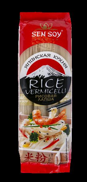 """Японская вермишель Rice Vermicelli  """"Сен сой"""""""