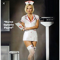 Карнавальный костюм медсестры Ophelia Payne (без чулков)