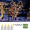 Гирлянда цепочка 3м теплобелая кабель белый дополнительная 30диодов LED outdoor 466-06-3