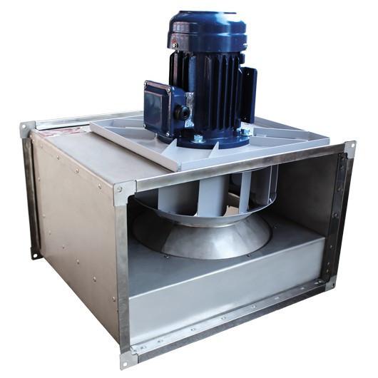 Вентилятор канальный прямоугольный ВКПН 80-50-4D-4,5