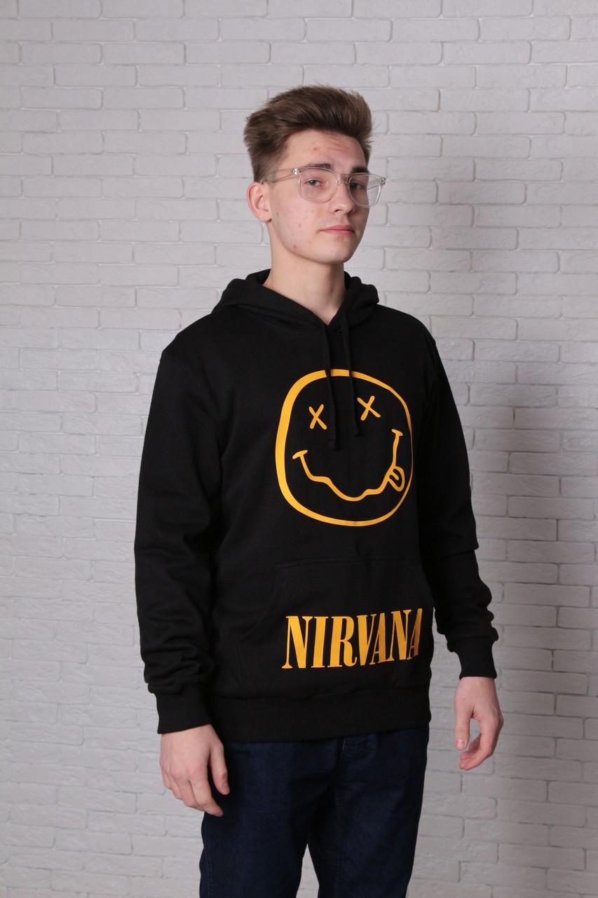 Худи черная Nirvana
