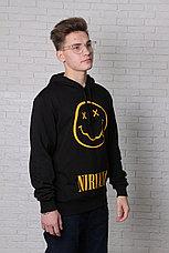 Худи черная Nirvana, фото 2