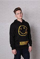 Худи черная Nirvana, фото 3