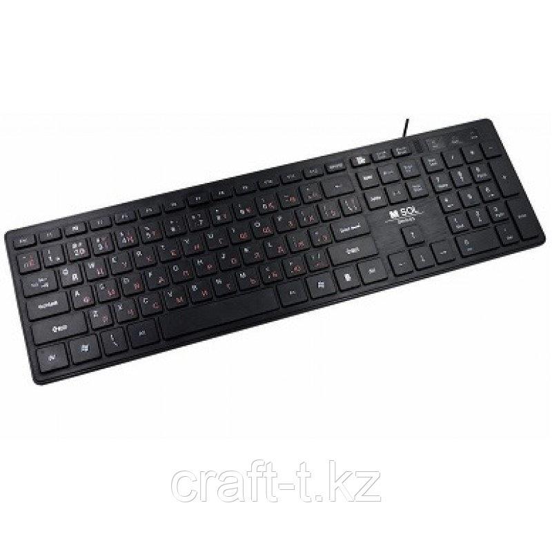 Компьютерная клавиатура M-Sol, DY-K902 Slim