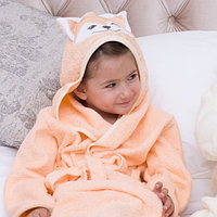 Детский халат лисёнок Рост 74-80 см