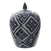 Османская керамическая ваза, 15х15х20 см