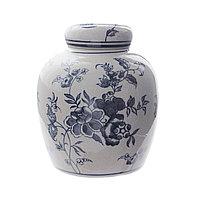 Керамическая ваза в стиле «MING», 17х17х20 см
