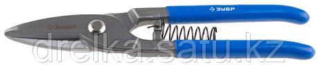ЗУБР Ножницы по металлу цельнокованые, прямые, Cr-V, 250 мм, серия Профессионал, фото 2