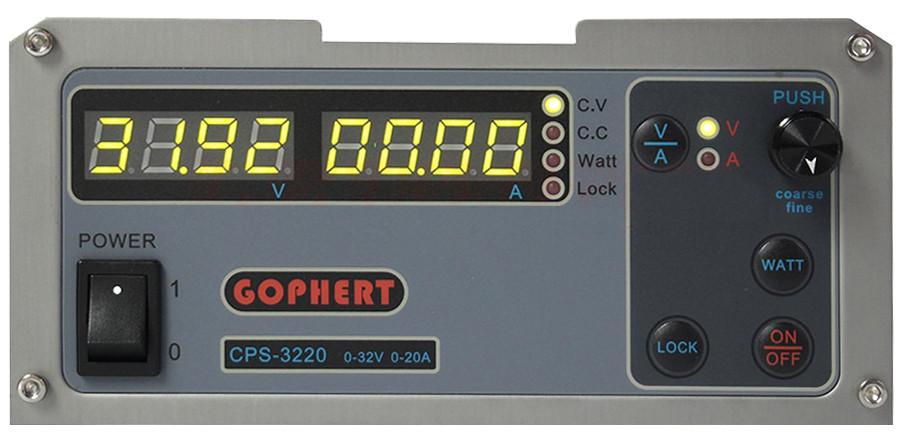 Блок питания Gophert 32В, 20А