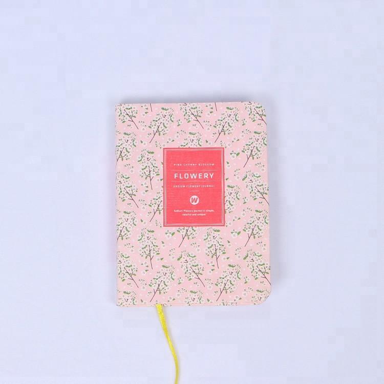 """Женские мини-планеры """"Flowery"""" в корейском стиле (A6) Цветущая вишня"""