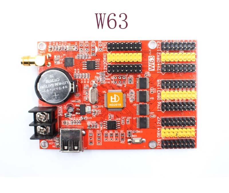 Светодиодный контроллер Wi-Fi HD-W60 / W62 / W63 / W64 (один цвет)