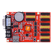 Светодиодный контроллер HD-S63 RS232 + U-Disk, фото 2