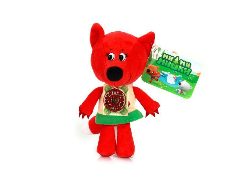 """Мульти-Пульти Мягкая игрушка """"Ми-ми-мишки"""" - Лисичка, 20 см (звук)"""