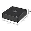 Мини-ПК ОЗУ:4Гб ПЗУ:64Гб Intel Celeron J3455 2.3ГГц HD Graphics 500, фото 2