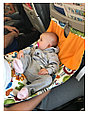 Гамак для самолёта лиловая мечта, фото 6