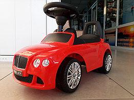 Толокар музыкальный Bentley со спинкой