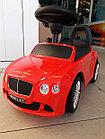 Толокар музыкальный Bentley со спинкой, фото 4