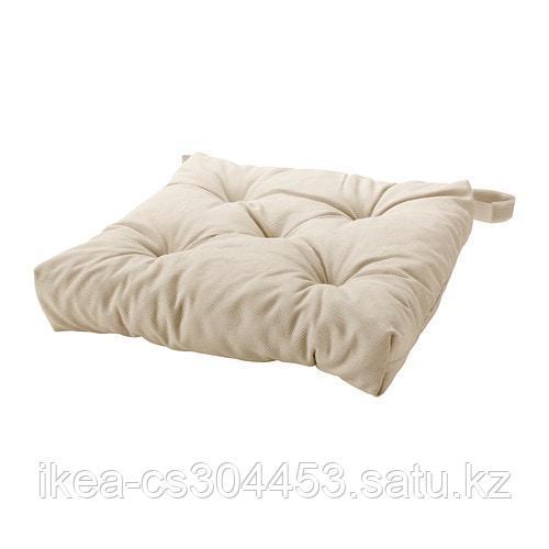 МАЛИНДА Подушка на стул, светло-бежевый - фото 1