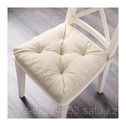 МАЛИНДА Подушка на стул, светло-бежевый - фото 2
