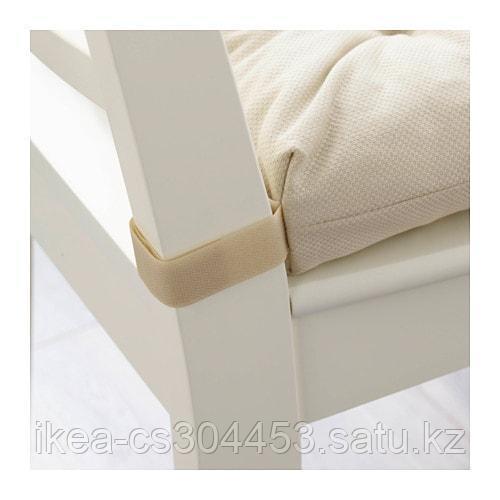 МАЛИНДА Подушка на стул, светло-бежевый - фото 3