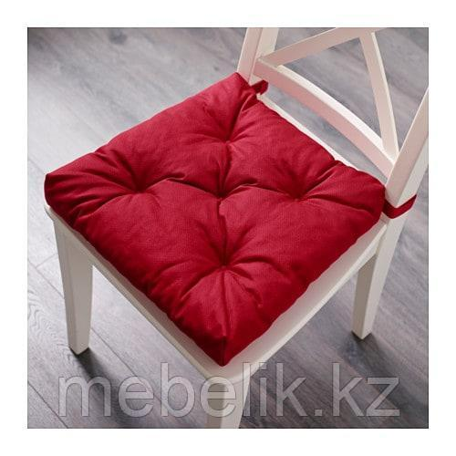 МАЛИНДА Подушка на стул, красный - фото 2