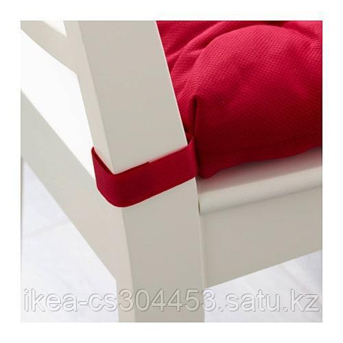 МАЛИНДА Подушка на стул, красный - фото 3