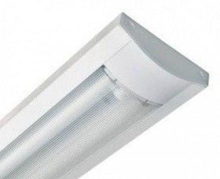 Светильник светодиодный линейный потолочный 120 см, с лампами., фото 2