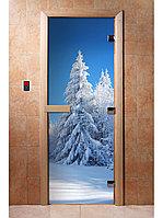 Дверь с фотопечатью (Зима) 190*70