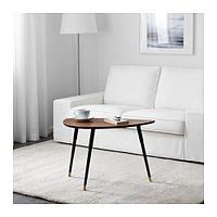 ЛЁВБАККЕН Придиванный столик, классический коричневый, фото 1