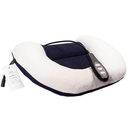Подушка надувная терапевтическая с массажным валиком и подогревом, фото 2