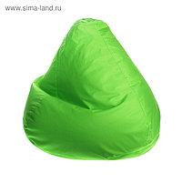 """Кресло-мешок """"Малыш"""", диаметр 70 см, высота 80 см, цвет зеленый"""