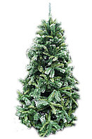 Елка ель искусственная с инеем 2,4 м, фото 1