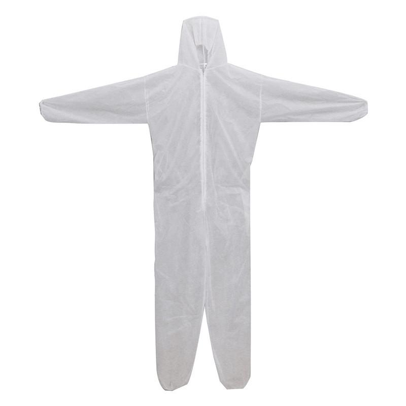 Защитный комбинезон (костюм) одноразовый для малярных и строительных работ