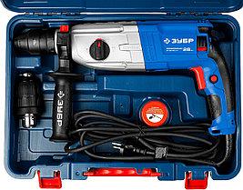 Перфоратор SDS-plus, ЗУБР Профессионал ЗП-28-800 КМ, реверс, горизонтальный, 0-4800 уд/мин, 800Вт, фото 2