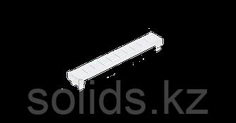 Рамка для маркировки для установки на плинты или магазин защиты откидная прозрачная10шт.
