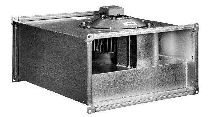 Вентилятор канальный прямоугольный ВКП 50-25-4D (380В), фото 2