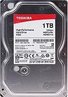 "Жесткий диск TOSHIBA HDWD110UZSVA/HDKPC32AKA01S P300 High-Performance 1ТБ 3,5"" 7200RPM 64MB SATA-III, фото 1"