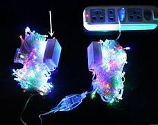 Гирлянда новогодняя 100 лампочек, фото 3