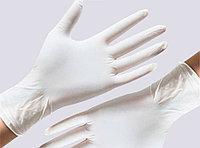Перчатки латексные нестерильные