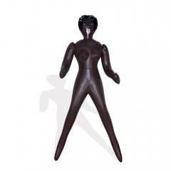 Надувная мини кукла 60 см. (сувенирная)