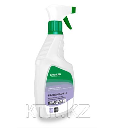 Для уничтожения источников неприятных запахов, дезинфекции и ароматизации воздуха.FR-Sheikh Apple 0.75l