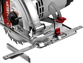 Пила дисковая, 90°-52 мм, диск 160 мм, 1300 Вт, ЗУБР, фото 3